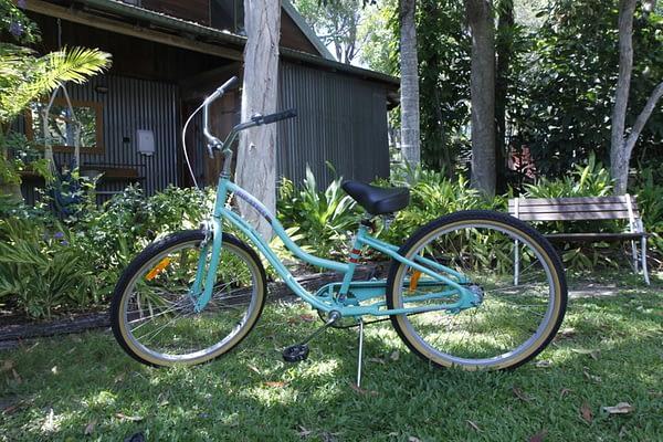 Free bike hire in Hervey Bay