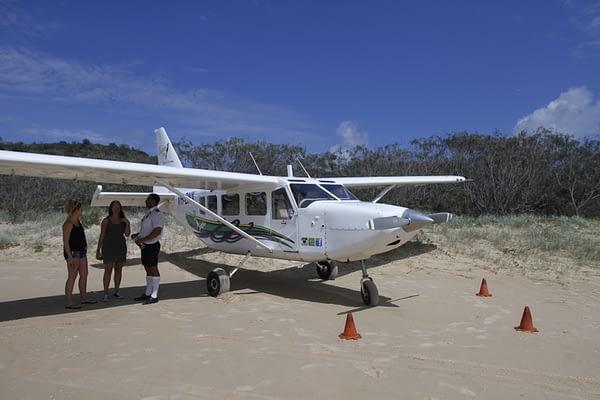 Scenic flights of Fraser Island