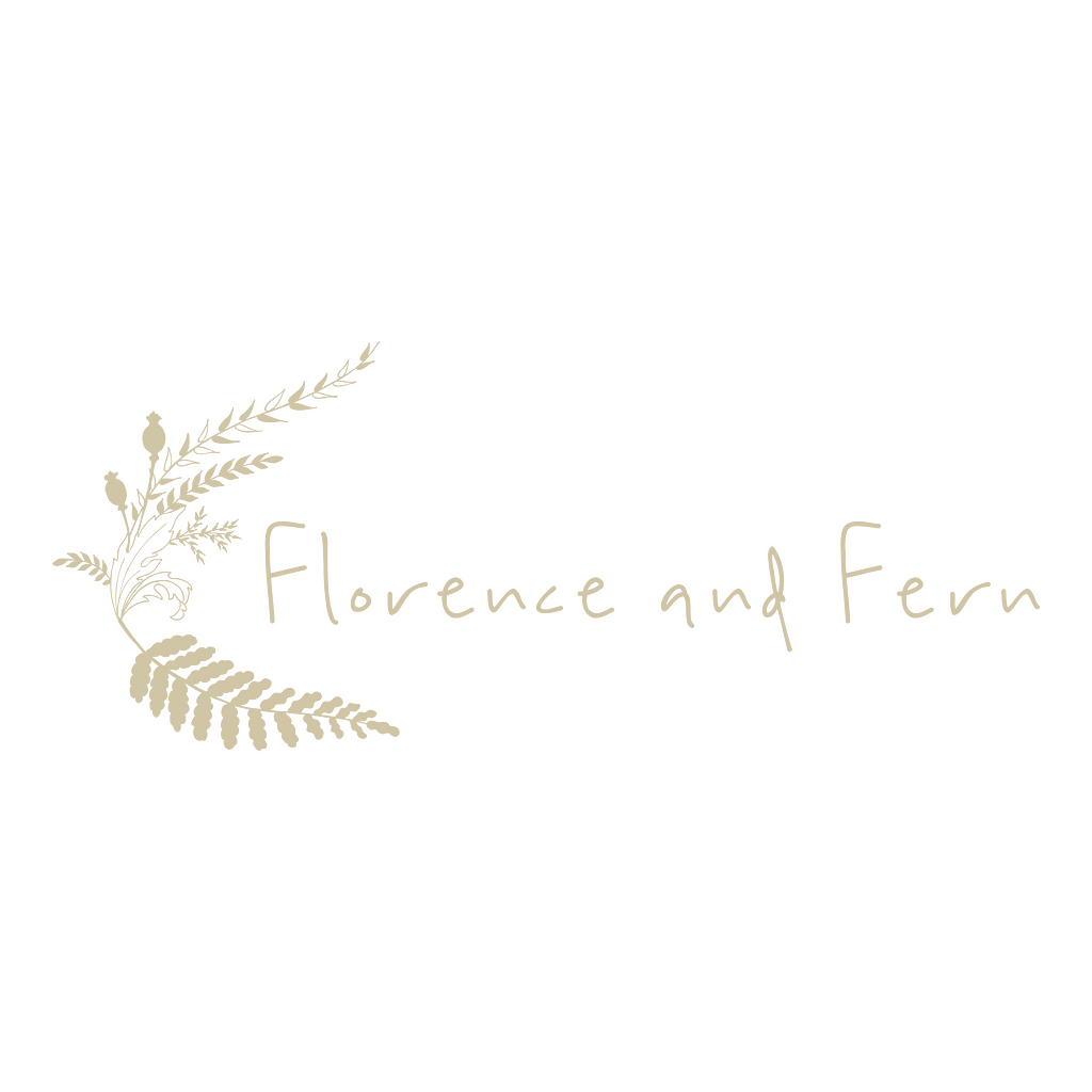 Florence and Fern LOGO_SQUARE_BEIGE